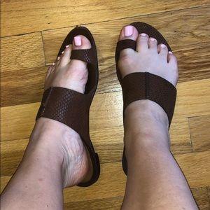 Michael Kors leather sandals